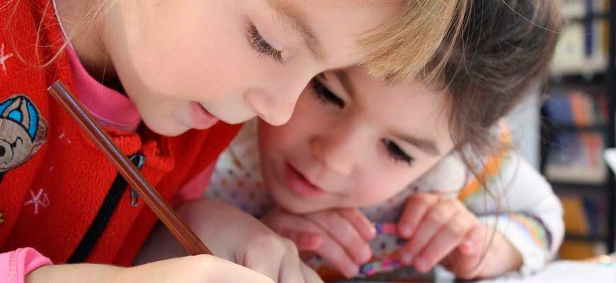 Обучение малышей английскому языку - полезные приемы