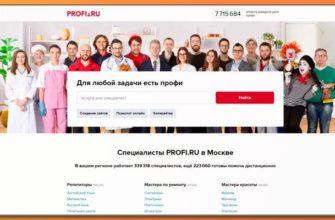 Обзор сервиса profi.ru