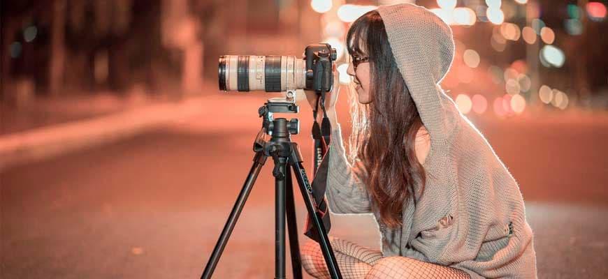 Выбор позиции при фотографировании